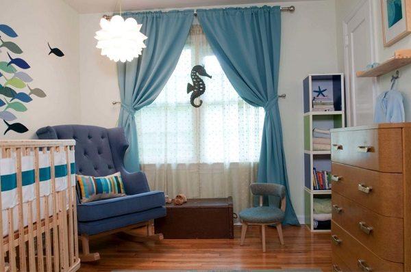 A complete nursery room